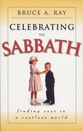 Celebrating the Sabbath Paperback