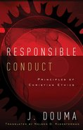 Responsible Conduct Paperback