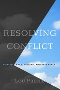 Resolving Conflict Paperback