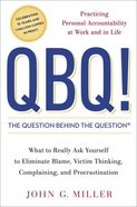 Qbq! the Question Behind the Question Hardback