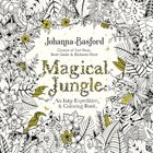 Magical Jungle (Adult Coloring Books Series) Paperback