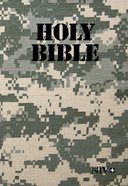 NIV Holy Bible Military Edition Digi Camo Paperback (Black Letter Edition)