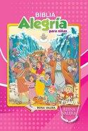 Reina Valera Children's Joy Bible Girl's Hardback