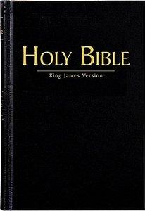 KJV Large Print Pew Bible Black