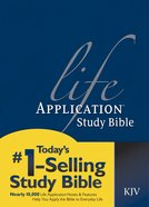 KJV Life Application Study 2nd Edition (Red Letter Edition) Hardback