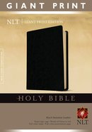 NLT Holy Bible Giant Print Edition Black (Red Letter Edition)