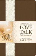 The One Year Love Talk Devotional Imitation Leather