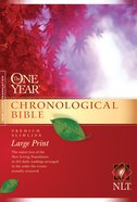 NLT One Year Chronological Large Print (Black Letter Edition)
