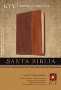 Ntv Santa Biblica Edicion Compacta Cafe Claro (Black Letter Edition) (Compact Brown) Imitation Leather
