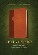 Lbp Living Bible Paraphrase Tan Brown Tutone (Black Letter Edition)