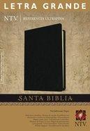 Ntv Referencia Ultrafina Letra Grande Slimline Black Large Print (Red Letter Edition) Bonded Leather