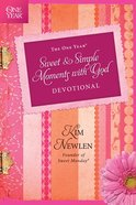 The One Year Sweet and Simple Moments With God Devotional Paperback