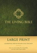 Lbp Living Bible Large Print Green (Black Letter Edition) Padded Hardback