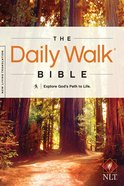 NLT Daily Walk Bible (Black Letter Edition)