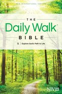 NIV Daily Walk Bible (Black Letter Edition) Paperback