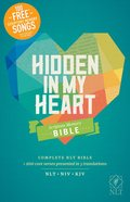 NLT Hidden in My Heart Scripture Memory Bible (Black Letter Edition) Paperback