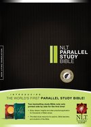 NLT Parallel Study Bible Indexed (Black Letter Edition) Hardback