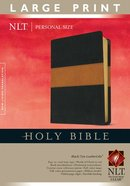 NLT Holy Bible Personal Size Large Print Edition (Red Letter Edition)
