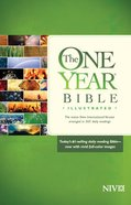 NIV One Year Bible Illustrated Paperback