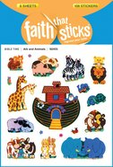 Ark and Animals (6 Sheets, 108 Stickers) (Stickers Faith That Sticks Series) Stickers