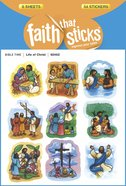 Life of Christ (6 Sheets, 54 Stickers) (Stickers Faith That Sticks Series) Stickers