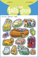 Noah & Co (6 Sheets, 78 Sparkle Stickers) (Stickers Faith That Sticks Series) Stickers