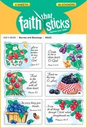 Berries & Blessings (6 Sheets, 36 Stickers) (Stickers Faith That Sticks Series) Stickers