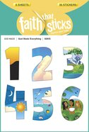 God Made Everything (6 Sheets, 36 Stickers) (Stickers Faith That Sticks Series) Stickers