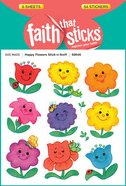 Happy Flowers Stick-N-Sniff (6 Sheets, 54 Stickers) (Stickers Faith That Sticks Series) Stickers