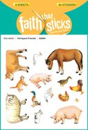 Farmyard Friends (6 Sheets, 84 Stickers, 42 Animal Pairs) (Stickers Faith That Sticks Series) Stickers