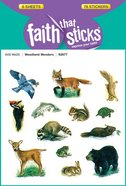 Woodland Wonders (6 Sheets, 78 Stickers) (Stickers Faith That Sticks Series) Stickers