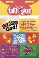 Psalm 139: 14 (6 Sheets, 42 Stickers) (Stickers Faith That Sticks Series) Stickers
