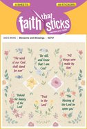 Blossoms & Blessings (6 Sheets, 48 Stickers) (Stickers Faith That Sticks Series)