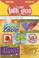 The Fruit of the Spirit (6 Sheets, 42 Stickers) (Stickers Faith That Sticks Series)