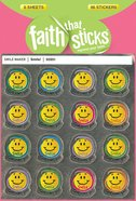 Smile! (6 Sheets, 96 Stickers) (Stickers Faith That Sticks Series)