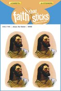 Jesus, Our Savior (6 Sheets, 24 Stickers) (Stickers Faith That Sticks Series) Stickers