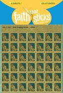 Gold Praying Hands Mini (6 Sheets, 252 Stickers) (Stickers Faith That Sticks Series) Stickers