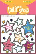 Shine! (6 Sheets, 114 Stickers) (Stickers Faith That Sticks Series) Stickers