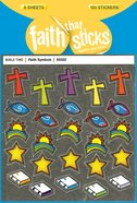 Faith Symbols (6 Sheets, 150 Stickers) (Stickers Faith That Sticks Series) Stickers