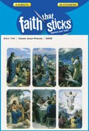 Classic Jesus Pictures (6 Sheets, 36 Stickers) (Stickers Faith That Sticks Series)