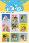 Jesus Loves Us (6 Sheets, 54 Stickers) (Stickers Faith That Sticks Series) Stickers