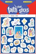 Nativity (6 Sheets, 138 Stickers) (Stickers Faith That Sticks Series)