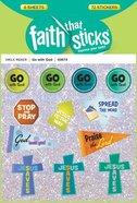 Go With God (6 Sheets, 72 Stickers) (Stickers Faith That Sticks Series) Stickers