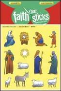 Jesus is Born (6 Sheets, 78 Stickers) (Stickers Faith That Sticks Series)