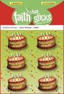 Jesus' Birthday (6 Sheets) (Stickers Faith That Sticks Series)