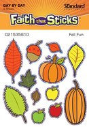 Fall Fun (6 Sheets, 72 Stickers) (Stickers Faith That Sticks Series) Stickers