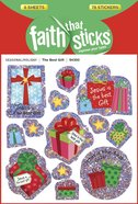The Best Gift (6 Sheets, 78 Stickers) (Stickers Faith That Sticks Series) Stickers