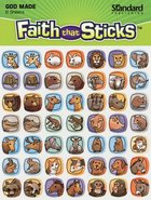 Ark Animals Micro-Mini (6 Sheets) (Stickers Faith That Sticks Series) Stickers