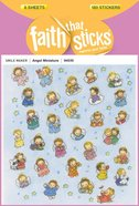 Angel Miniature (6 Sheets, 180 Stickers) (Stickers Faith That Sticks Series)