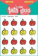 Happy Apples (6 Sheets, 96 Stickers) (Stickers Faith That Sticks Series) Stickers